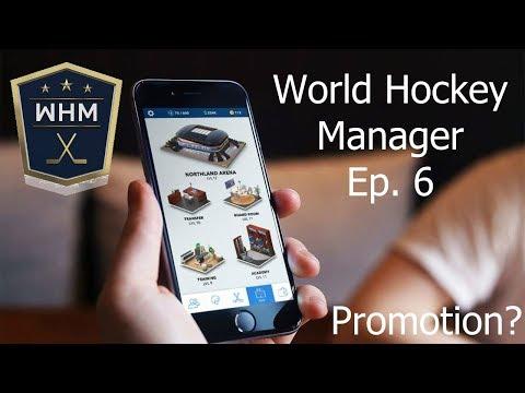 World Hockey Manager Ep. 6 Promotion