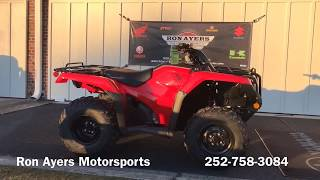 5. 2019 Honda FourTrax Rancher 4x4 DCT EPS