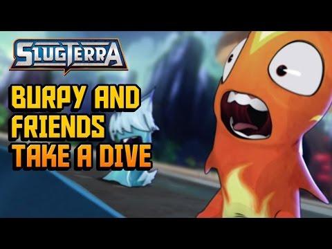 Slugterra Slugisode 40 - Burpy and Friends Take a Dive