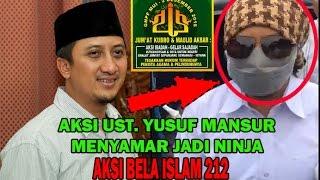 Video Ustad Yusuf Mansur Menyamar jadi NINJA Aksi Bela Islam 212 diMonas - Lihat Apa yang Terjadi? MP3, 3GP, MP4, WEBM, AVI, FLV Februari 2019