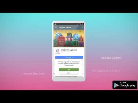 DiscountJugaad App Promo