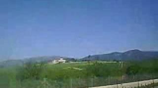 Binisalem Spain  City new picture : Train Journey - Mallorca (Palma de Mallorca to Binissalem)