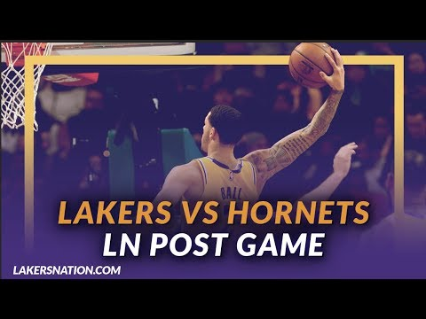 Video: Lakers Discussion: Lakers Beat the Hornets, LeBron & Lonzo Both Get Triple Doubles