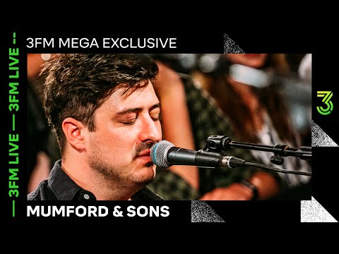Mumford & Sons live met 'Guiding Light', 'Only Love', 'Woman' & meer   3FM Live   NPO 3FM