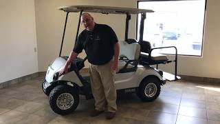 7. 2018 Yamaha Drive 2 Gas Golf Cart with Rival Package Walk Around-Mid Ohio Golf Car