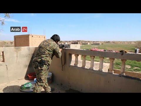 Syrien: 300 IS-Kämpfer haben sich den kurdisch geführ ...