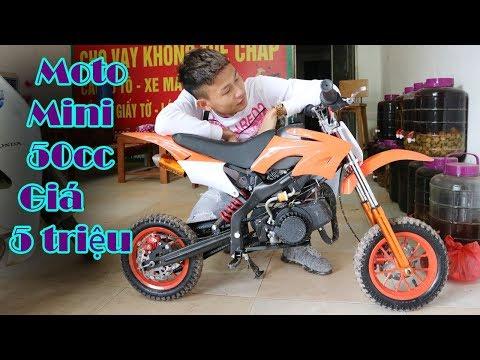 Duy Thường - Mua Xe Moto Cào Cào Mini 50cc Giá 5 triệu - Thời lượng: 11:40.