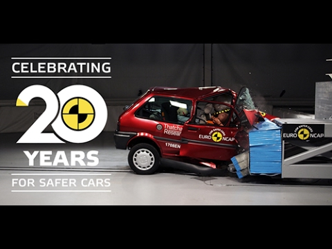 Crash test a confronto, Rover del 1997 vs Honda del 2017 - VIDEO