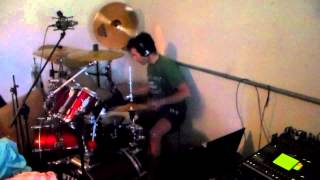 Fergie Frederiksen: Angel Don't Cry - Drums Cover Video