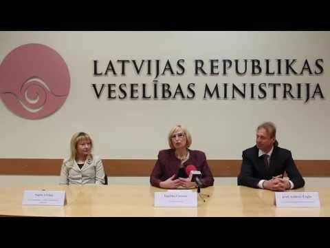 Veselības ministre par Sirds veselības gada 2013 sabiedrības informēšanas kampaņu.