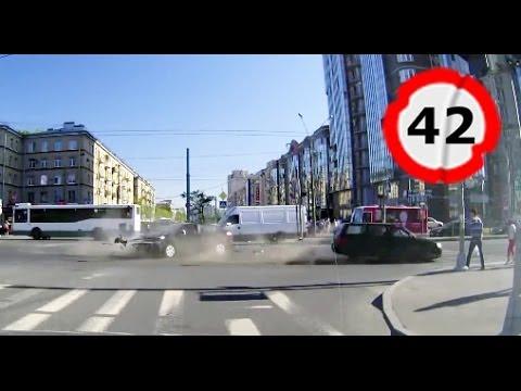 Car Crash Compilation # 42 || Подборка ДТП и Аварий Июнь 2014
