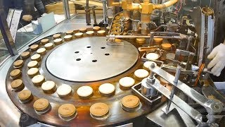 Video Automatic Cake Processing Machines Inside The Cake Factory - Fruitcake, Doughnuts, Cheesecakes MP3, 3GP, MP4, WEBM, AVI, FLV Mei 2019