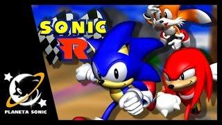 [LIVE FIXA] Sonic R - Quem é o filééé?