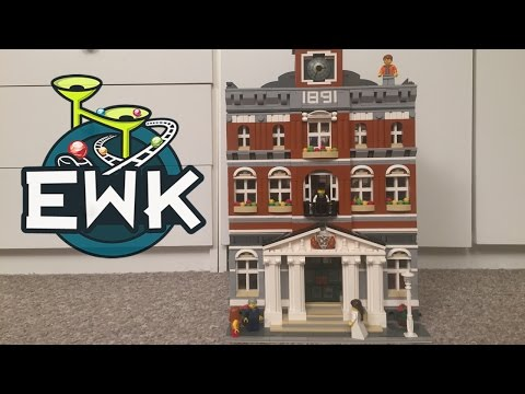 YouTube video of building the Lego Town Hall