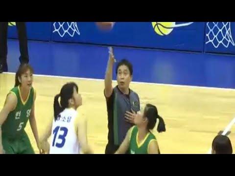 Φιλικοί αγώνες μπάσκετ στην Κορεατική χερσόνησο
