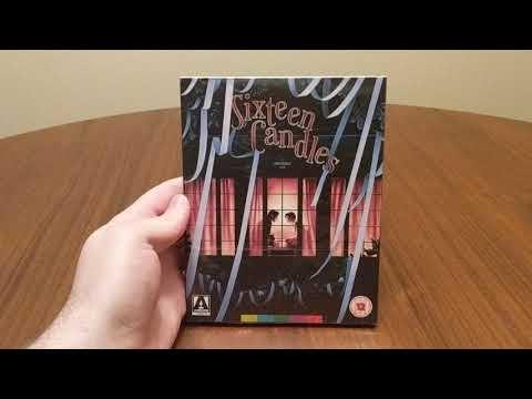 Sixteen Candles (1984) Dir. John Hughes - Arrow Video Blu-Ray Unboxing