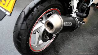 7. HONDA CBR 250 R 2012 ARROW FULL EXHAUST + OTHER PARTS (ENGINE ON WITHOUT DB-KILLER)