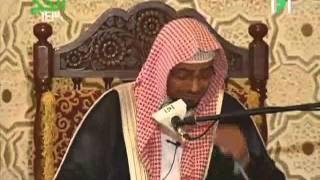 تأثر الشيخ صالح المغامسي وهو يشرح معاني التلبيه