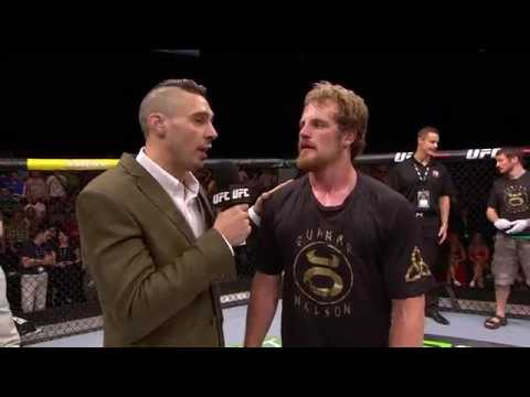 Fight Night Dublin%3A Gunnar Nelson Octagon Interview