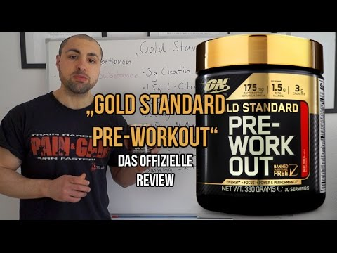 [Video] Review: Gold Standard Pre-Workout Optimum Nutrition