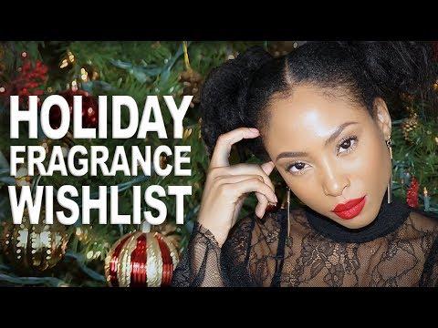 Holiday Fragrance Wishlist | Top 5 Perfumes for Christmas 2017 (видео)