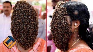 Video DIJADIKAN SARANG…!!! Muka Wanita Ini Tiap Hari Dikerumuni Lebah MP3, 3GP, MP4, WEBM, AVI, FLV April 2019
