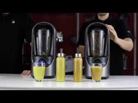 Vidia Vacuum Blender Test Apples