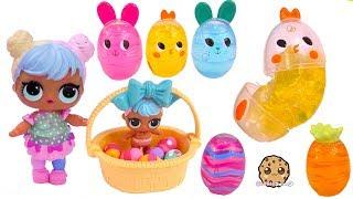 Video LOL Surprise Easter Egg Hunt ! Goo Putty + Shopkins Eggs Toy Video MP3, 3GP, MP4, WEBM, AVI, FLV Januari 2019