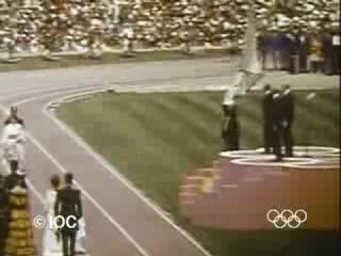 Ceremonia inaugural de la XIX Olimpiada de México 68