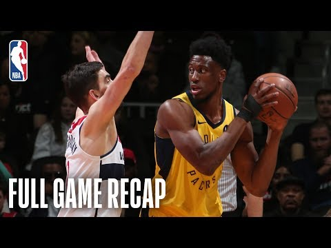 Video: PACERS vs WIZARDS | Balanced Attack Leads Indiana | February 23, 2019