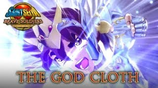 Saint Seiya Brave Soldiers - PS3 - The God Cloth (Trailer)