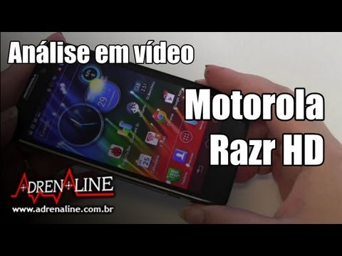 Video análise – Motorola Razr HD