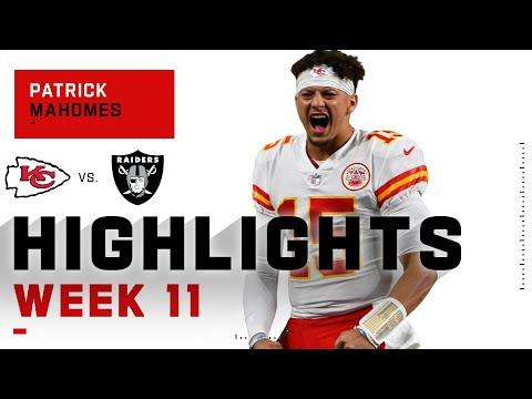 Patrick Mahomes Denies Raiders Their Spoils w/ 348 Passing Yds & 2 TDs | NFL 2020 Highlights