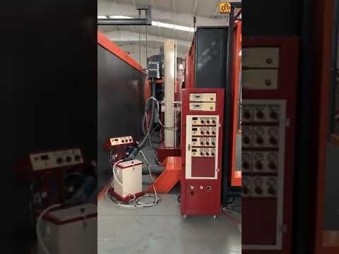 Top Pallet Powder Coating Baking Oven