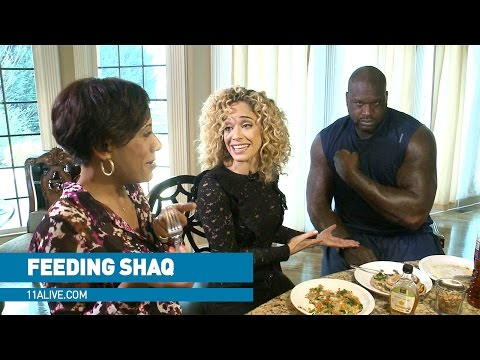 Video What it takes to feed NBA giant Shaq download in MP3, 3GP, MP4, WEBM, AVI, FLV January 2017