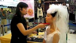 Cke Mall-教新娘化妝示範I