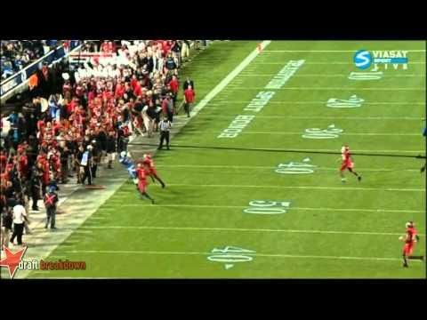 Cody Hoffman vs Utah 2013 video.