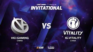 Vici Gaming vs IG.Vitality, Game 2, SL i-League Invitational S2, CN Qualifier