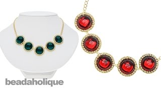 How To Make The Holiday Elegance Necklace