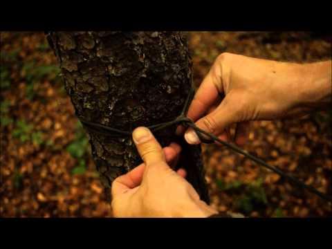 Bushcraft - Jak rozwiesić tarpa - przydatne węzły.