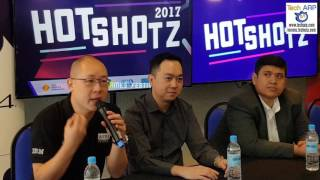 HotShotz 2017 key partners reveal why they are supporting and pushing the HotShotz 2017 eGames festival. They areHasnul Hadi Samsudin, Director, Creative Content & Technologies Division, MDEC;Tan Chin Ike, Head of School of Computing and Creative Media, KDU University College;Andre Stiegler, Studio Manager,Codemasters, and representatives from Acer Malaysia and Digi.Read more @ http://www.techarp.com/events/hotshotz-2017-egames-festival/Tech ARP  www.techarp.com  forums.techarp.com