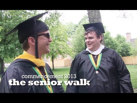 W&M commencement 2013: The senior walk