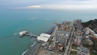 Durres Albania  city photos : Durres from the Sky Albania Drone Aerial Movie Video