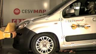 Bumper test delantero Fiat Panda