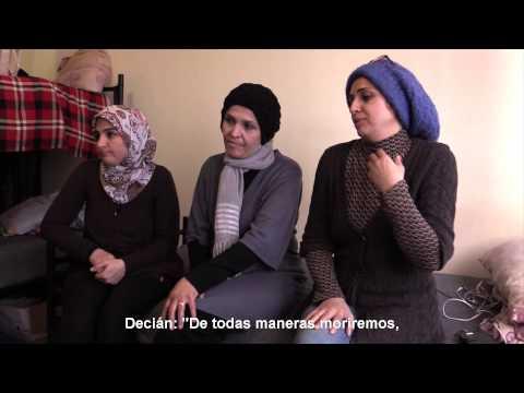 Testimonios de mujeres sirias refugiadas