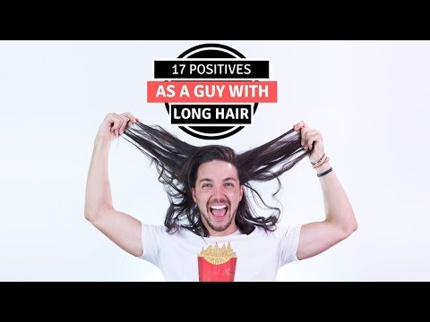 Mens hairstyles -  17 Positives As A Guy With Long Hair - Men's Long Hairstyles