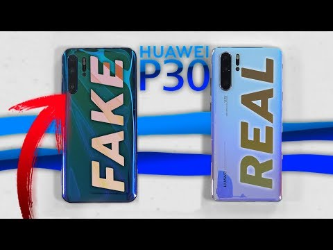 Huawei P30 Pro FAKE vs REAL (Español)