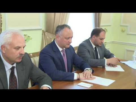 Președintele Republicii Moldova, Igor Dodon a avut o întrevedere cu Ambasadorul Michael Scanlan, şeful Misiunii OSCE în Moldova