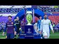 Fifa 19 Fc Barcelona Vs Real Madrid Uefa Champions Leag