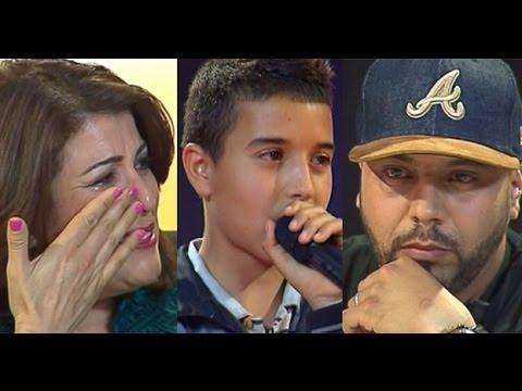 طفل أبكى المغاربة بموهبته